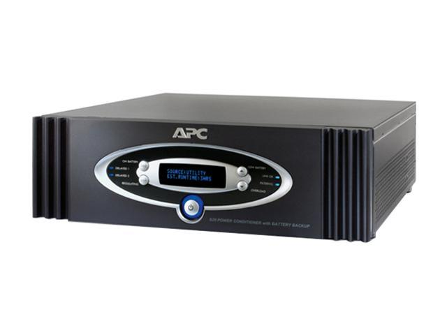 APC S20BLK AV Black Network Manageable 1.25kW S Type Power Conditioner