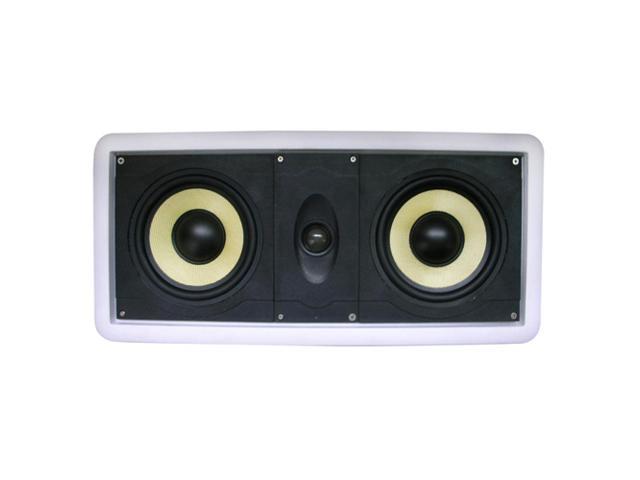 New Wave Audio CC-602KV 120 W RMS Speaker - 2-way - White