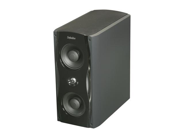 Definitive Technology StudioMonitor 65 Ultra Performance Shelf/Stand Monitor Loudspeaker - Each (Black)