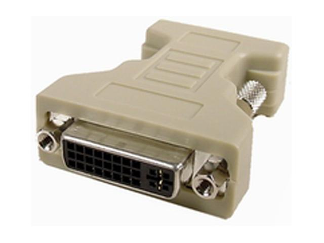 CABLES UNLIMITED ADP-3750 Beige F-M DVI-I Female To VGA Male Adapter