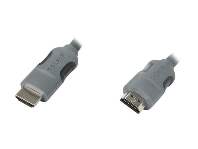 BELKIN PURE AV AM22302-12 12 feet Gray HDMI Audio Video Cable M-M