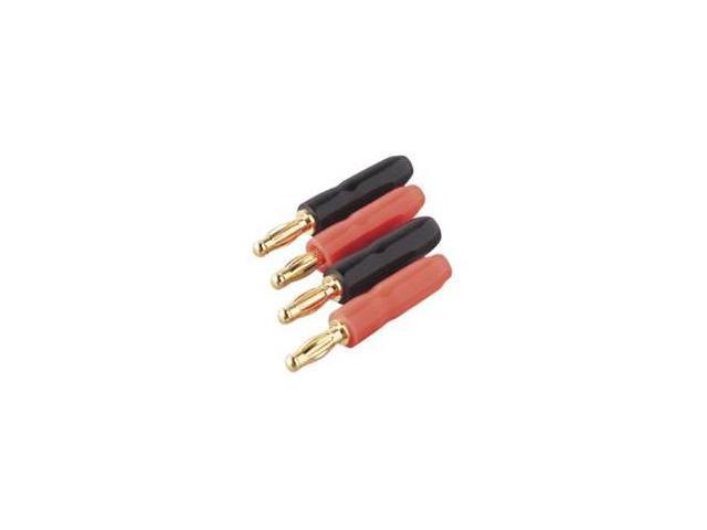BELKIN AV24000 Gold Banana Plugs, 4-Pack