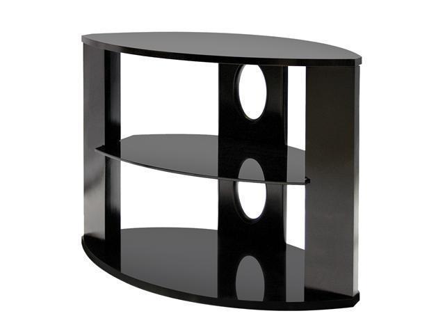 """Sceptre Dello I Up to 37"""" Piano Black TV Stand"""