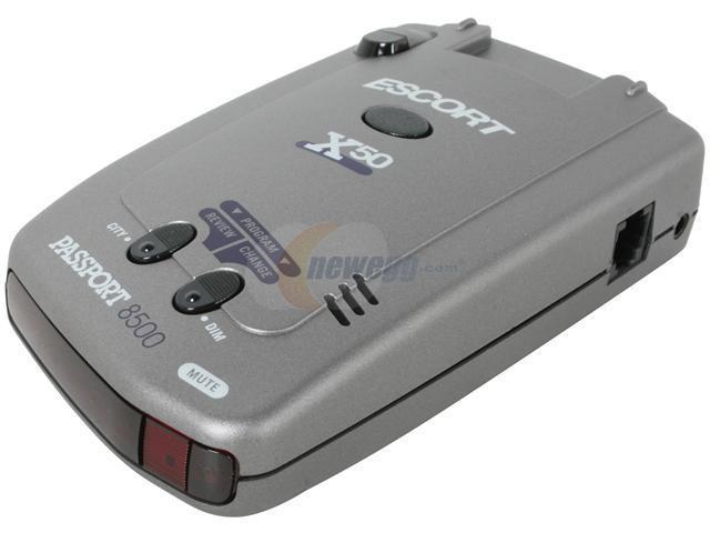 escort laser radar detector