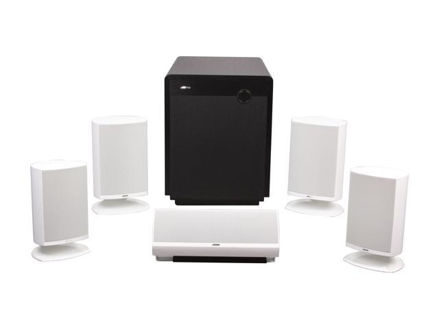 Jamo A 340 HCS 7 White 5.1-Channel Home Cinema Speaker System
