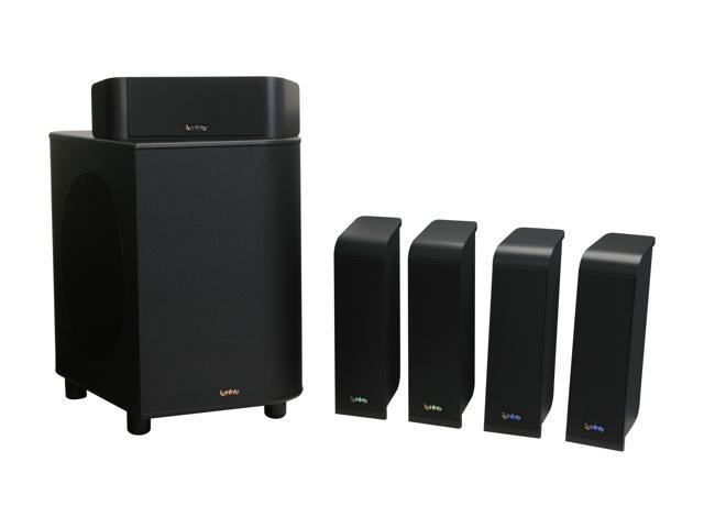 Infinity TSS-1200 5.1 CH Charcoal Home Theater System