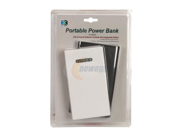 PC USA White 3000 mAh USB Universal External Portable Power Bank YP-M8565