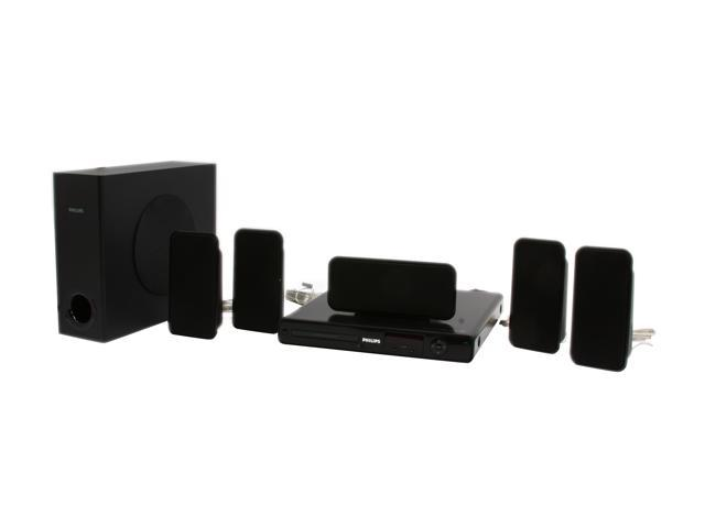 PHILIPS HTS3264D 5.1 CH DVD Home Theater System with iPod Dock