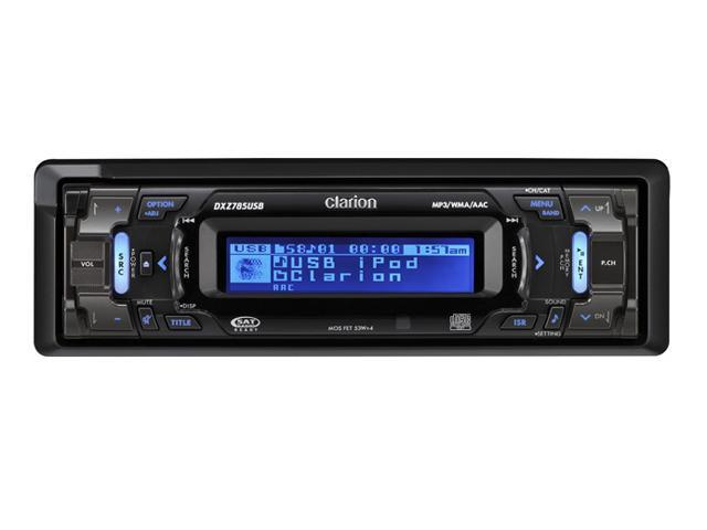 Clarion In-Dash CD Receiver/CeNET Control