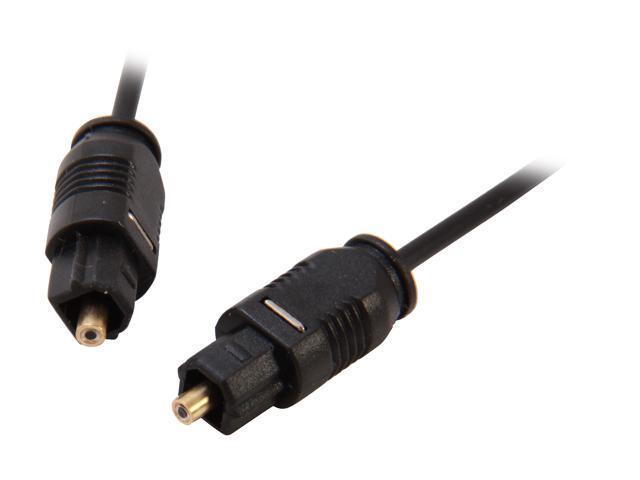 Coboc Model TOSLINK-MM-25-BK 25 ft. Optical Toslink Audio Cable