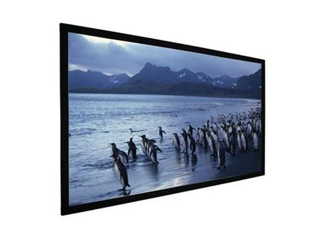 "AccuScreens 800019 106"" HDTV Fixed Soundscreen Matt White"