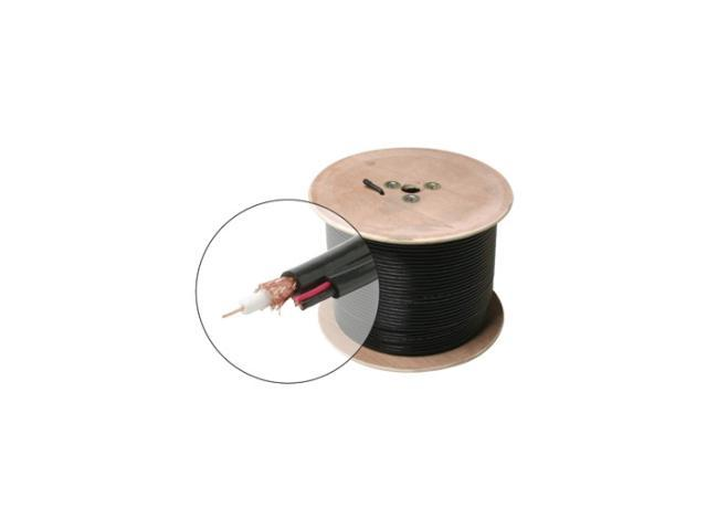 STEREN 200-915BK 500 ft. RG59 Coaxial CCTV-Cam Cable – Spool