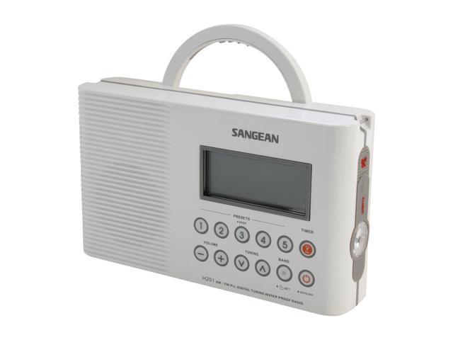 Sangean AM/FM Shower Radio H201