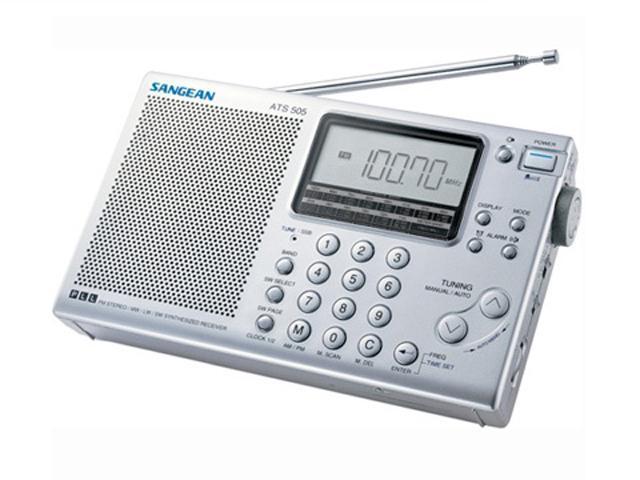 Sangean AM/FM Stereo/SW Radio ATS 505