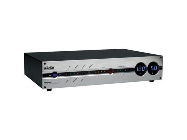 Tripp Lite HT1210ISOCTR 12-Outlet Home Theater Isobar A/V Power Center (5700 Joules, Tel/Ethernet/Coax)