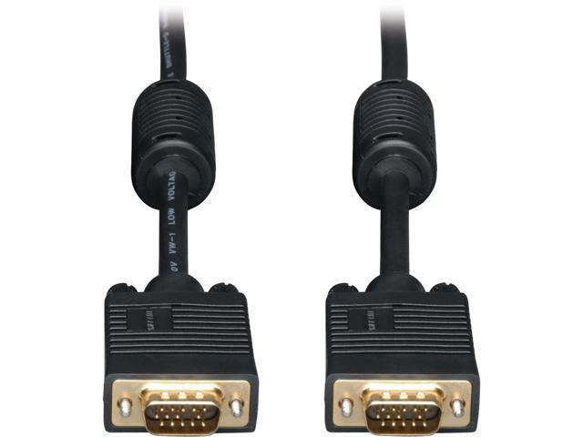 Tripp Lite P502-020 20 ft SVGA / VGA Monitor Gold Cable HD15 Male / Male