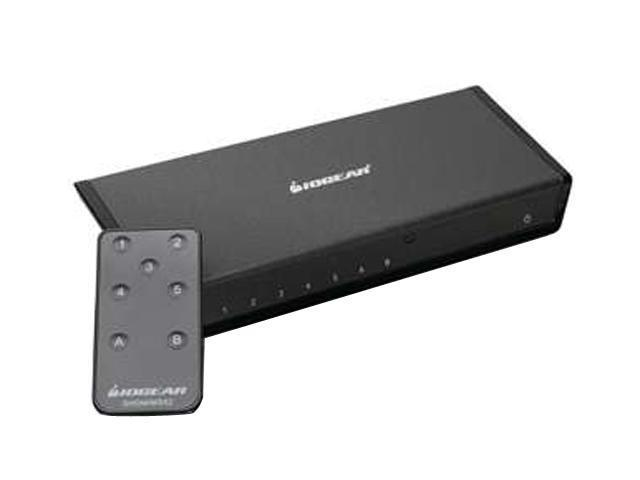 IOGEAR GHDMIMS52 5x2 HDMI Matrix Switch with Remote