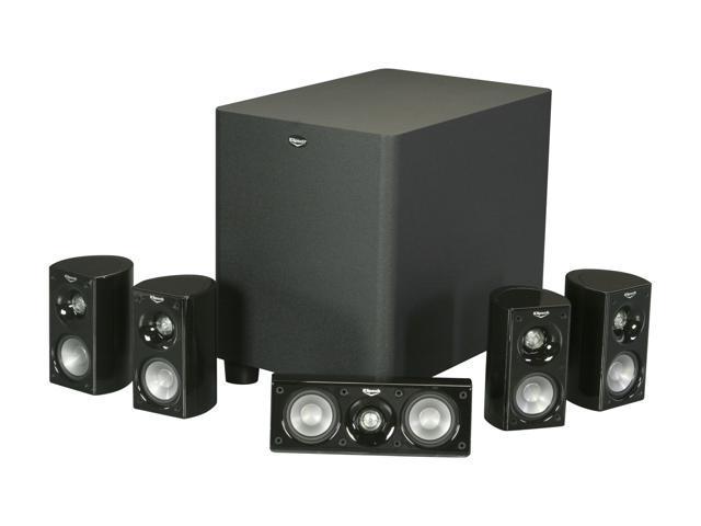 klipsch hd 500 5 1 high definition theater system. Black Bedroom Furniture Sets. Home Design Ideas