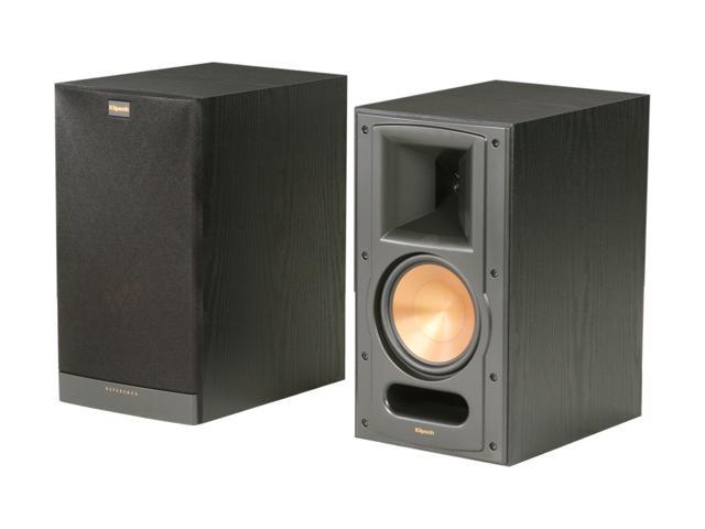 Klipsch Reference RB-61 II B Bookshelf Speaker, Black Ash Pair