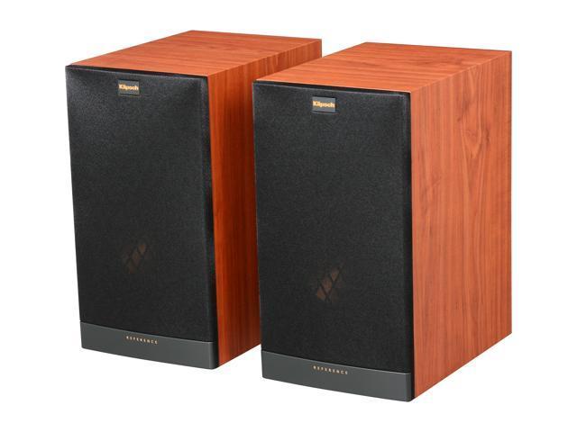 klipsch reference rb 61 ii c bookshelf speaker cherry pair. Black Bedroom Furniture Sets. Home Design Ideas