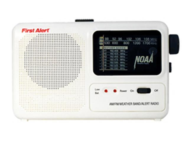 First Alert WX-17 Portable Emergency Alert Radio