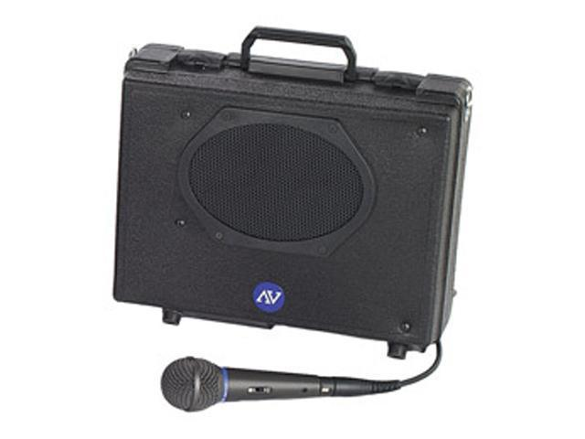 AmpliVox SW222 Black Wireless Portable PA System