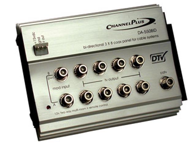 Channel Plus - Bi-Directional RF Distribution Amplifier w/ 12-Volt IR (DA-550BID)