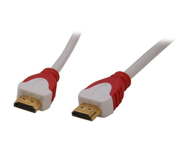 Link Depot LD-HHSE-25 25 ft. White HDMI® High Speed with Ethernet Cable - Type A to Type A