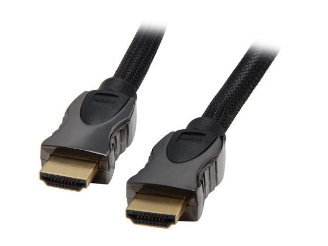 BYTECC 06-HM 6 ft. Black HDMI male to HDMI male HDMI Advanced High speed Male to Male Cable
