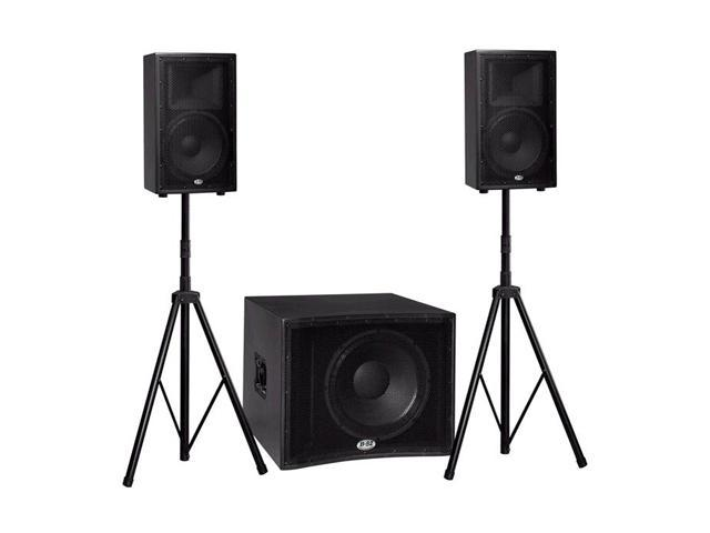 B-52 MATRIX-2000 1200-watt Active Three-piece System