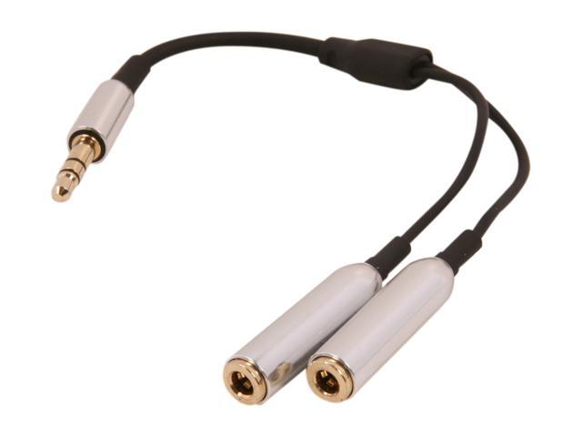 Spider E-STYC-1M2F E-Series Advanced Headphone Splitter Cable