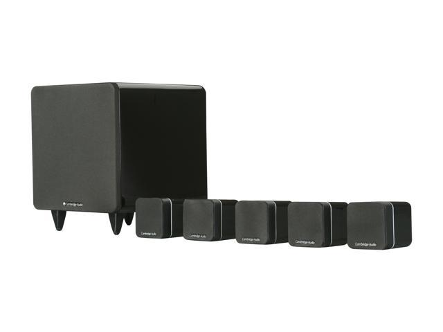 Cambridge Audio Minx S315 5.1-Channel Satellite Subwoofer System in Gloss Black Lacquer Finish System