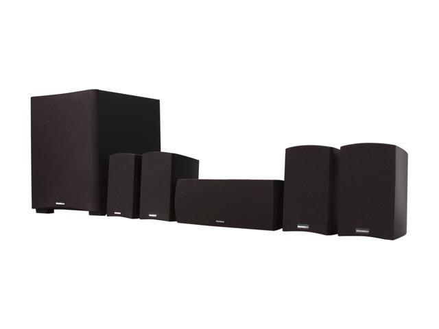 MartinLogan MLT-1 5.1 CH Home Theater Speaker System Black System