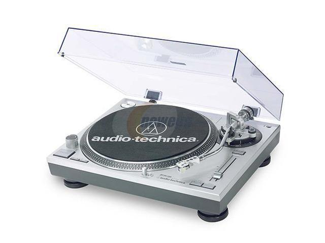 Audio-Technica AT-PL120 Direct Drive Professional Stereo Turntable System