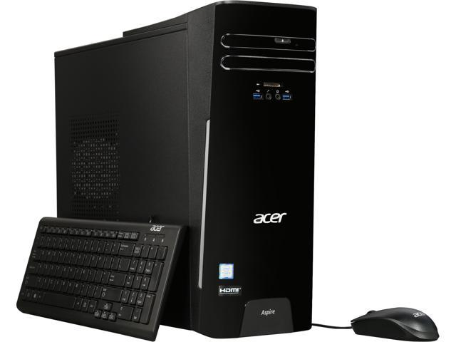 Acer TC-780-NESelecti5 Desktop with Intel Quad Core i5-7400 / 8GB / 256GB SSD / Win 10