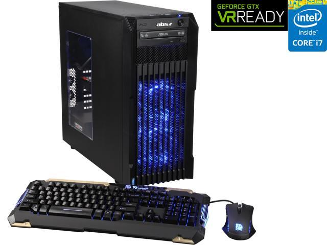 ABS Vortex Omega ALI040 Gaming Desktop PC Intel Core i7 5820K (3.30 GHz) 32GB 3 TB HDD 240 GB SSD Windows 10 Home 64-Bit
