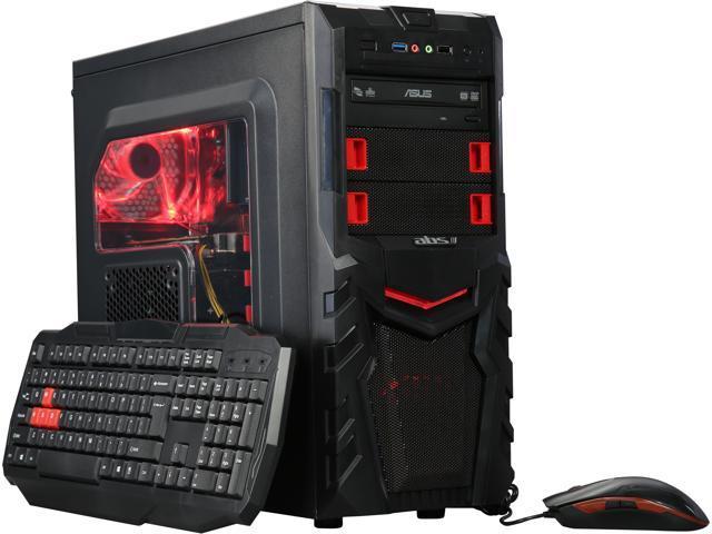ABS Logic-R56 ALI088 Desktop PC Intel Core i5-6500 8 GB DDR4 240 GB SSD Geforce GTX 1060 Windows 10 Home 64-Bit
