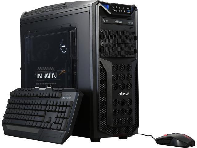ABS Vayron-X ALI087 Gaming PC Intel Core i7-6700K 16 GB DDR4 2400 MHz 240 GB SSD GeForce GTX 1060 6 GB Windows 10 Home 64-Bit