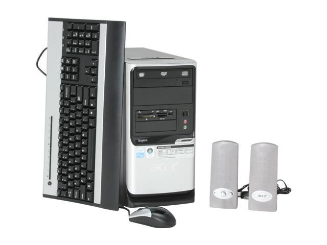 Acer Desktop PC Aspire AST690-UP935A Pentium D 935 (3.2 GHz) 1 GB DDR2 250 GB HDD Windows Vista Home Premium
