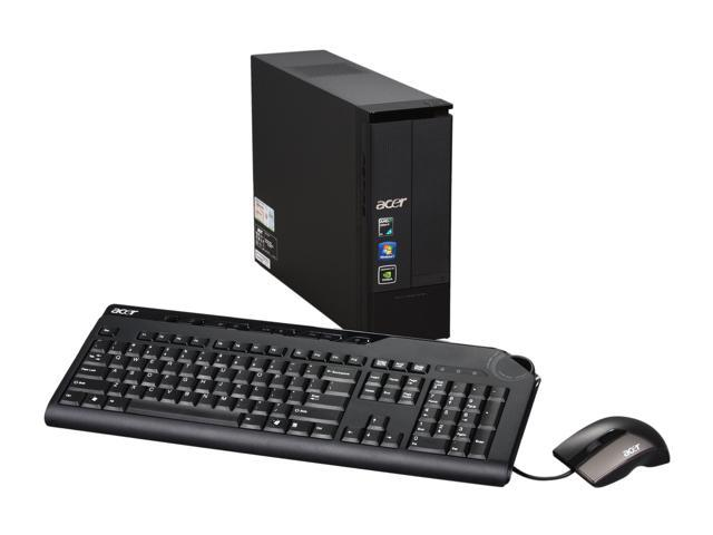 Acer Desktop PC Aspire AX3400-U2012 Athlon II X3 435 (2.9 GHz) 4 GB DDR3 500 GB HDD Windows 7 Home Premium 64-bit
