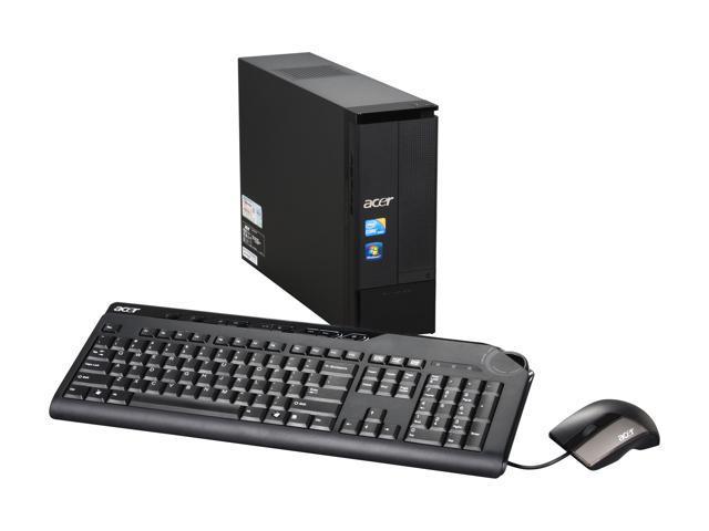 Acer Desktop PC Aspire AX3950-U2042 Intel Core i3 540 (3.06 GHz) 6 GB DDR3 1 TB HDD Windows 7 Home Premium 64-bit