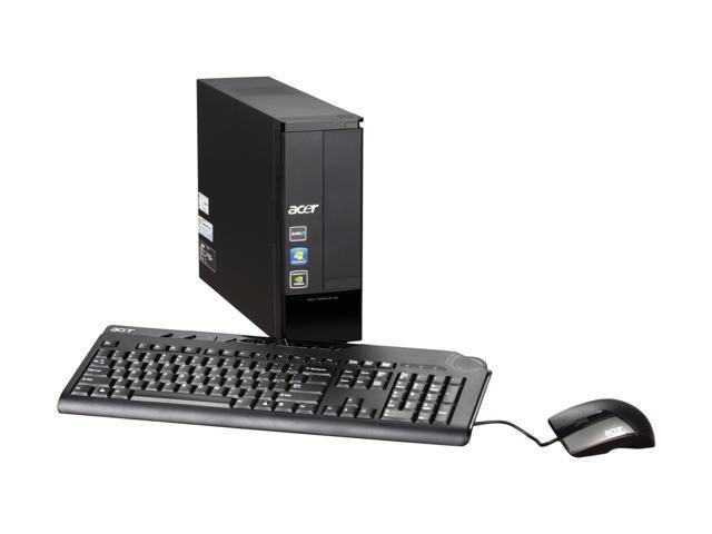 Acer Desktop PC Aspire AX3400-U3032 Athlon II X4 640 (3.0 GHz) 4 GB DDR3 1 TB HDD Windows 7 Home Premium 64-bit