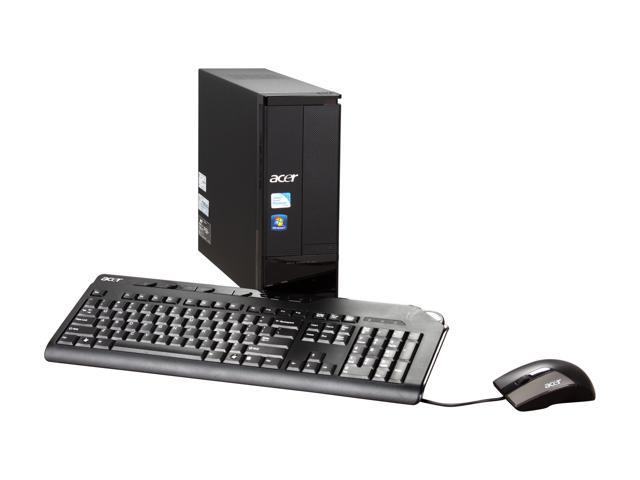 Acer Desktop PC Aspire AX3910-U3012 Pentium E5700 (3.00 GHz) 4 GB DDR3 640 GB HDD Windows 7 Home Premium 64-bit