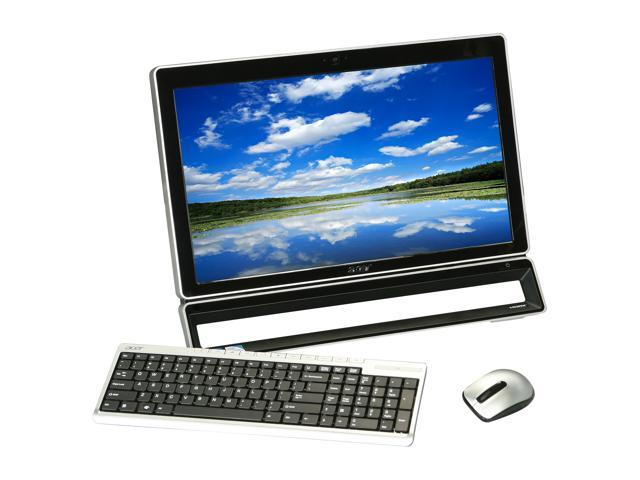 "Acer All-in-One PC AZ3771-UR20P (DO.SL2AA.001) Pentium G630 (2.70 GHz) 4 GB DDR3 500 GB HDD 21.5"" Touchscreen Windows 7 Home ..."