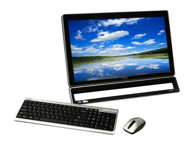 Acer All-in-One PC AZ5771-UR20P (DO.SL1AA.001) Pentium G630 (2.70 GHz) 6 GB DDR3 1 TB HDD 23