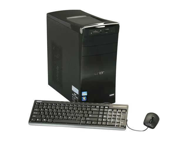 Acer Desktop PC AM3985-UR21P (DT.SJQAA.002) Intel Core i5 3450 (3.10 GHz) 8 GB DDR3 1 TB HDD Intel HD Graphics Windows 7 Home Premium 64-Bit