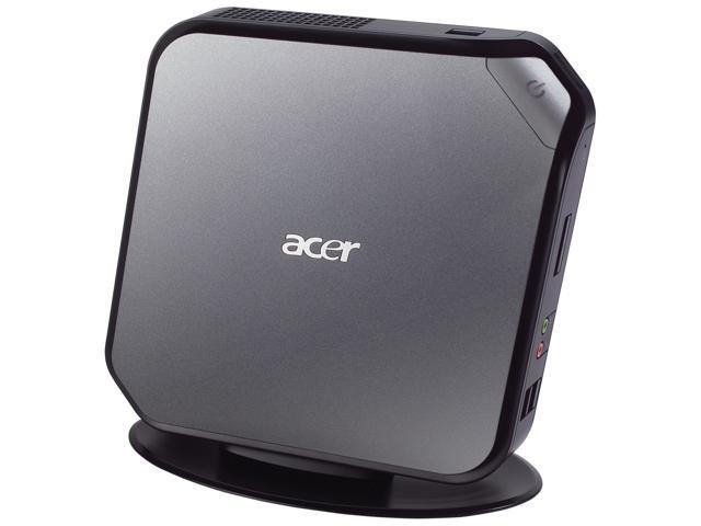 Acer Veriton VN282G-UD5253W (DT.VBHAA.001) Desktop PC Intel Atom 2GB DDR3 500GB HDD Windows 7 Professional 32/64-Bit Dual-hotload ...