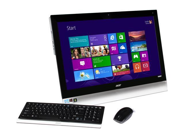 Acer Desktop PC Aspire A7600U-UR308 (DQ.SL6AA.001) Intel Core i5 3210M (2.50 GHz) 8 GB DDR3 1 TB HDD 27