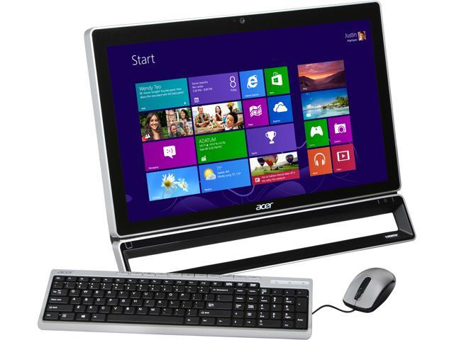 "Acer All-in-One PC Aspire AZS600-UR15 (DQ.SLUAA.003) Pentium G2020 (2.90 GHz) 4 GB DDR3 1 TB HDD 23"" Windows 8"