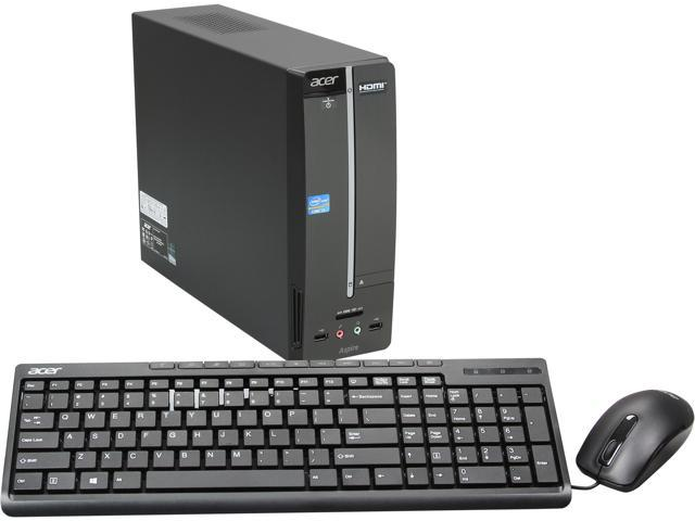 Acer Desktop PC Aspire AXC600-UR12 (DT.SLJAA.006) Intel Core i3 3220 (3.30 GHz) 6 GB DDR3 1 TB HDD Intel HD Graphics 2500 Windows 8